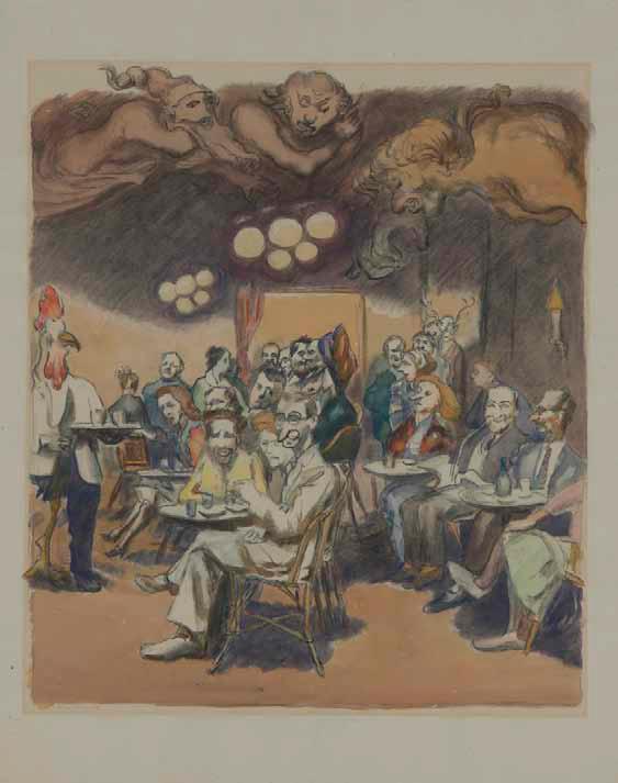 Ludwig Meidner und William Blake