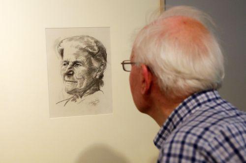 Hanna Bekker vom Rath vermittelte Ludwig Meidner die ehemalige Klempnerwerkstatt in Marxheim, in der er sein Atelier einrichtete. Foto: Alexander Paul Englert