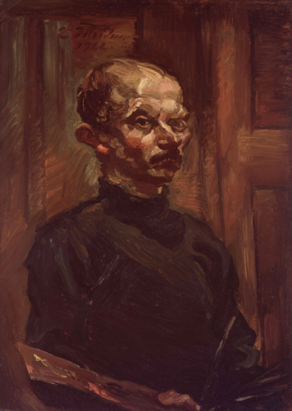 Ludwig Meidner self portrait